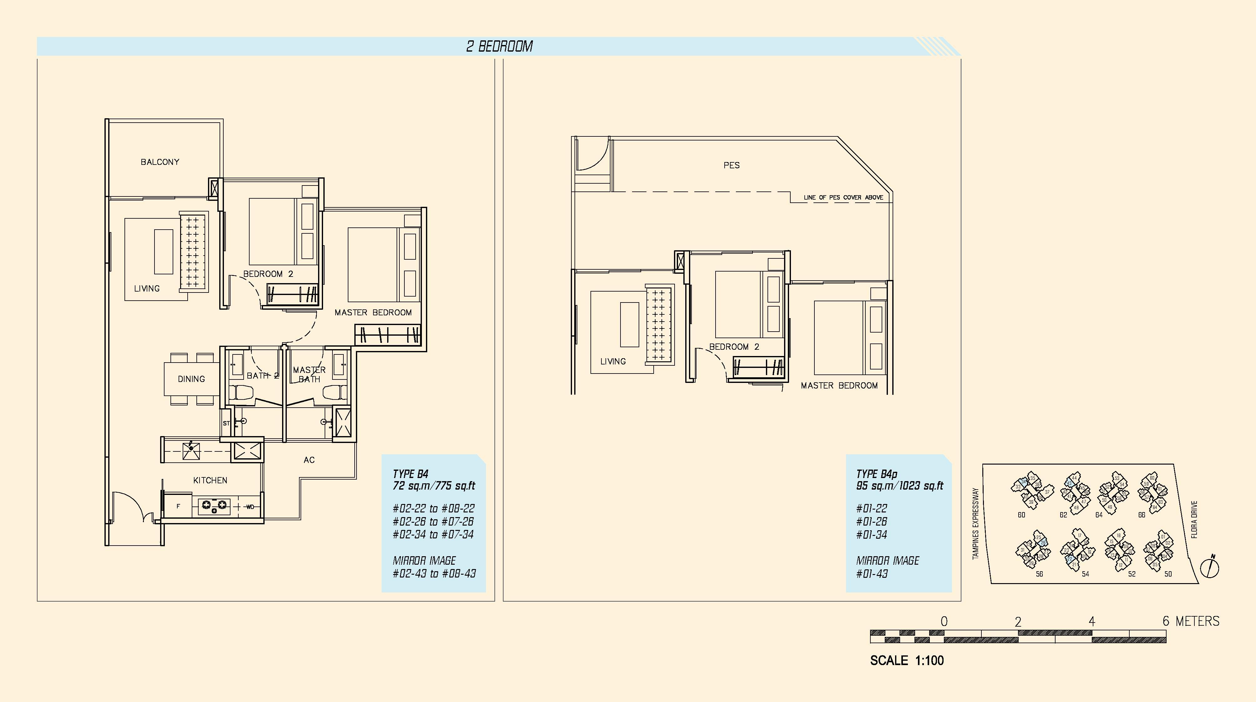 Parc Olympia Floor Plan Thefloors Co